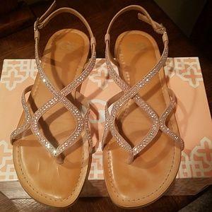 Gianni Bini nude sandals